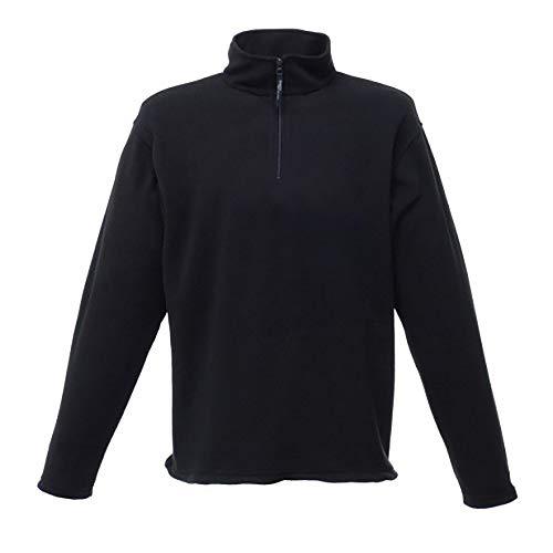 Regatta Micro Zip Neck 3x große Fleece–Schwarz