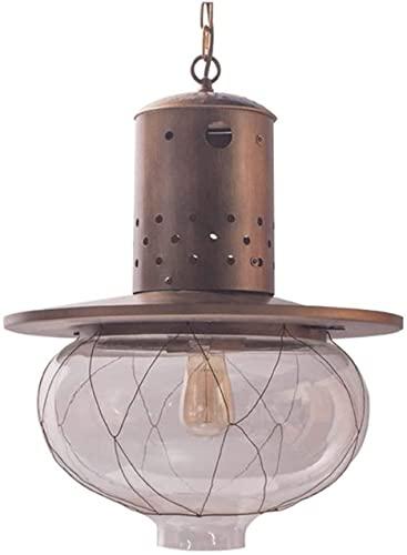 ZZZHS Lámpara Colgante nórdica Moderna lámpara de Vidrio de Metal Colgando araña Ajustable Adecuada for Loft, Sala de Estar, cabecera, Sala de Estar, Simplicidad de luz de suspensión generosa