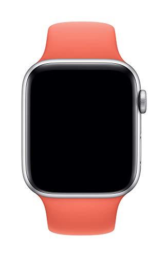 Apple Watch (44mm) Sportarmband, Clementine - S/M und M/L