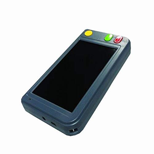 JL Tragbare Digitale Lupe 4,3/5 Zoll Elektronische Lesehilfe Für Sehbehinderte Farbenblindheit Farbmodus Für Mehrere Arten, Wiederaufladbare Batterie Usw,5.0inch