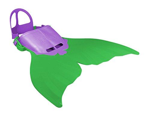 Xtrem Sports 00501aquatail sirena aletas, tamaño M 6–12años, color verde , color/modelo surtido