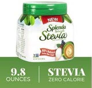 SPLENDA Naturals Stevia Sweetener Table Top Jar, Powder, 9.8 ounces ( 3 PACK)