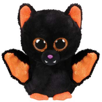 Ty 36276 Echo BAT Beanie BOOS Halloween 19, Multicolored