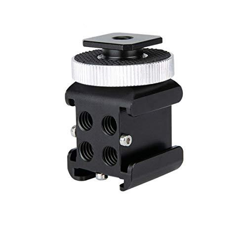 NICEYRIG Dreifach-Blitzschuh-Adapter für Blitzlichter, Mikrofone und Monitore