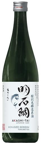 Akashi-Tai Sake Honjozo Genshu Tokubetsu - Akashi-Tai - 720 ml