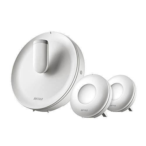 BUFFALO WiFi 無線LAN AirStation connect 親機+専用中継機2台セットモデル WTR-M2133HS/E2S 11ac ac2200 8...