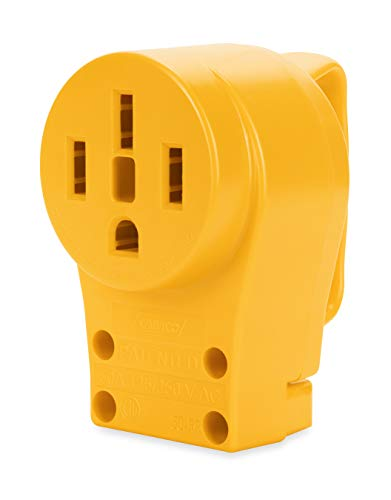 Camco 55353 50 AMP Female Replacement Receptacle