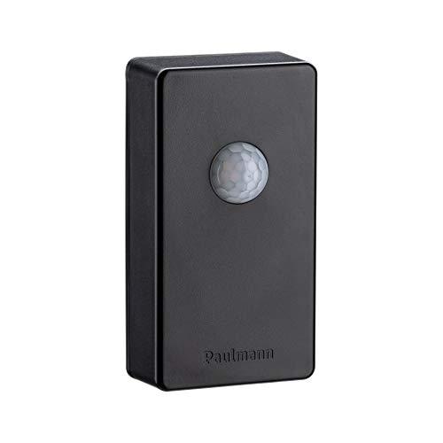 Paulmann IP44 antraciet 18012 Plug & Shine SmartHome Zigbee draadloze besturing schemeringssensor/bewegingsmelder buitenverlichting sensor besturing, kunststof