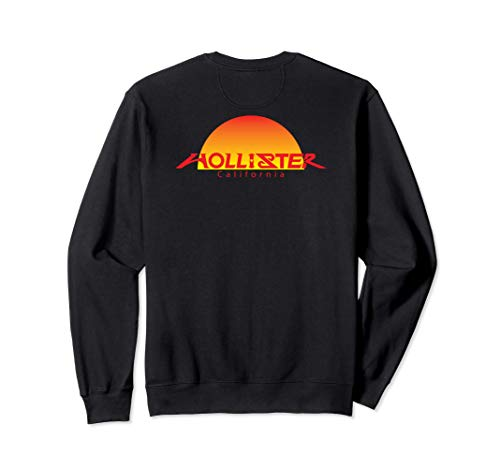 HOLLISTER CA., HOLLISTER SUNSET GIFT BACK VIEW SOUVENIR Sweatshirt