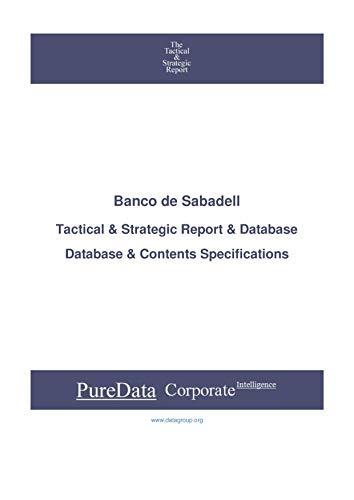 Banco de Sabadell: Tactical & Strategic Database Specifi