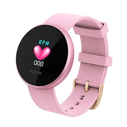 FZXL Nuevo B36 Mujer Smart Watch Pulsera Tracker Fitness Ciclo Fisiológico Muñeca BirthdayGifts Regalos para Novia Madre Señoras,A