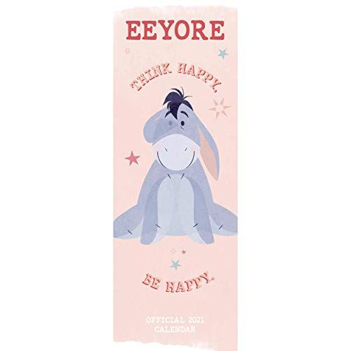 Official Eeyore 2021 Calendar - Slim Wall Format Calendar