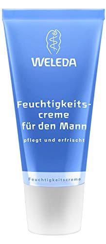 WELEDA Feuchtigkeitscreme für den Mann, Naturkosmetik Pflegecreme für trockene und empfindliche...