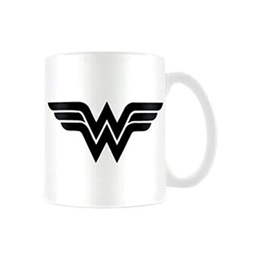 DC Originals MG23653 (Wonder Woman Mono Logo) Mug, Multicolore, 11oz/315ml