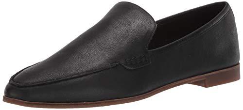 Lucky Women's BEJAZ Loafer Flat, Black, 5.5