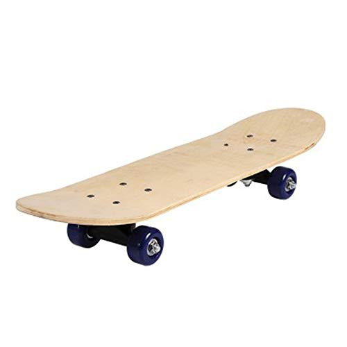 Luopei DIY-Skateboards für Erwachsene und Kinder, blanko, Graffiti-Skateboard, langlebige Gleitplatte, Graffiti-Skateboard, handbemalt, Holz, für Anfänger, Eltern-Kind-Skateboard