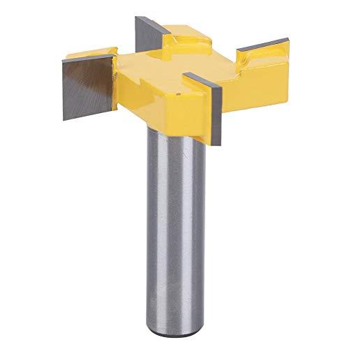 Broca de fresado de superficie de spoilboard CNC, vástago de 1/2 '',...