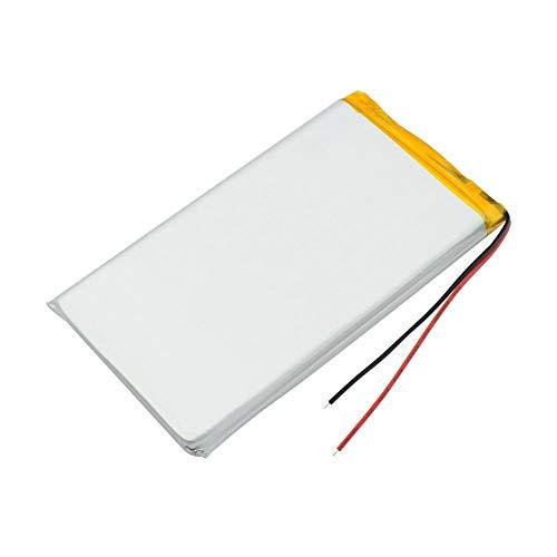 wangxiaoping 3.7v 10000mAh 8565113 4.45x2.56x0.33 Batería de polímero de Litio Li-Ion Li Po Cámara Digital Libro electrónico Reemplazo de la batería de la Tableta-3,7 V_2 Piezas
