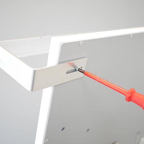 VASNER Aluminium Handtuchhalter  Handtuchwärmer Set  Infrarotheizungen Citara Glas Metall Bild 5*