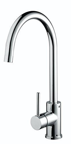 Bristan PST EFSNK C Pistachio Easyfit Kitchen Sink Mixer Tap with Swivel Spout, Chrome
