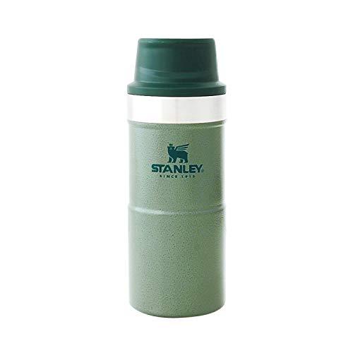 STANLEY(スタンレー) 新ロゴ クラシック真空ワンハンドマグII 0.35L グリーン 保冷 保温 ワンタッチ式 マグ...