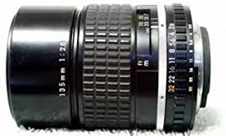 Nikon 135mm f/2.8 series E manual focus lens