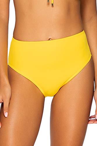 Sunsets Women's The High Road Full Coverage Bikini Bottom Swimsuit, Hawaiian Sun, Large