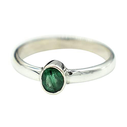 Ranking TOP12 AAA Quality Ranking TOP18 Natural Emerald Ring jewel emerald natural Handmade
