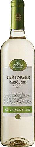 【シャルドネに飽きてしまったあなたに カリフォルニアワイン入門にぴったり】ベリンジャー カリフォルニア・ソーヴィニヨン・ブラン [ 白ワイン 辛口 アメリカ合衆国 750ml ]