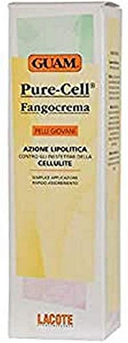 Guam Pure-Cell Fangocrema Action Lipolytique contre la Cellulite Peaux Jeunes 150 ML
