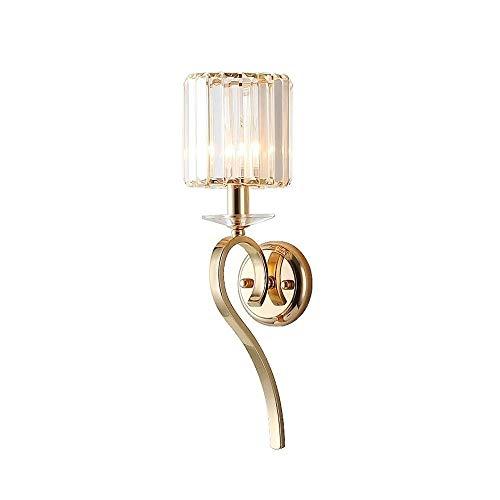 TV achtergrond muur Slaapkamer Nachtlampjes Muur Lightings Stripe glazen lampenkappen wandlamp Postmodern Minimalistische Luxe Style Single-head Wandlamp Aisle decoratieve verlichting