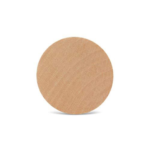 De madera círculos–2'x 1/4' de madera–juego de discos para Jewlery hacer, Crafts, y proyectos de bricolaje–por carpintero Crafts