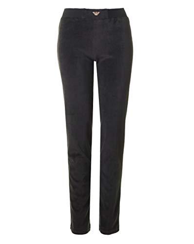Emporio Armani Damen Chenille Regular Fit Pants Unterhose, schwarz, Klein