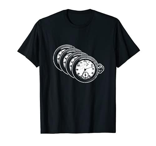 Montre de poche rétro pour grand-père T-Shirt
