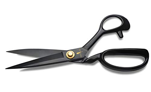 "Fabric Scissors Professional 9"" Special Edition + Bonus Craft Knife -Heavy Duty Sewing Scissors - All Purpose Sharp Shears; Perfect Scissors for Dressmaking Tailoring, Crafting, Home & Office"
