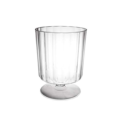 Party Essentials N824099 Party Supplies Tableware, 10-Count, Clear