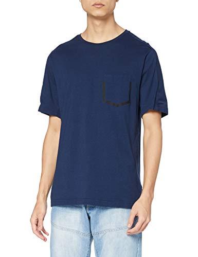 Reebok Męska bluza Rcf poliamid Crew Neck niebieski niebieski (Maruni) l