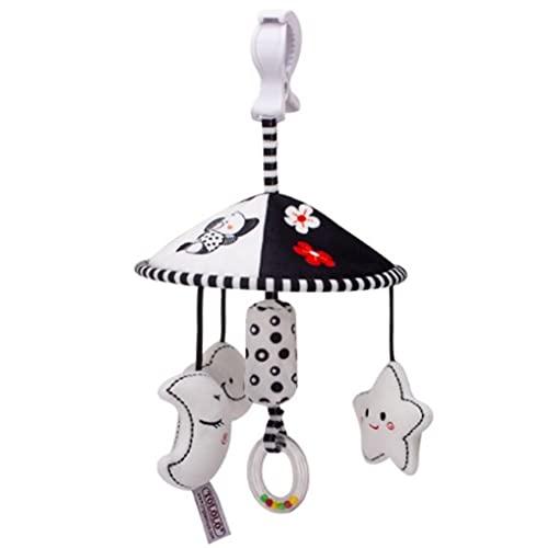 Smiim ベビーカー メリー ベッド メリー チャイルドシート 車 おもちゃ がらがら ガラガラ ラトル あかちゃん 赤ちゃん 玩具 出産祝い 誕生日 プレゼント (メリー)