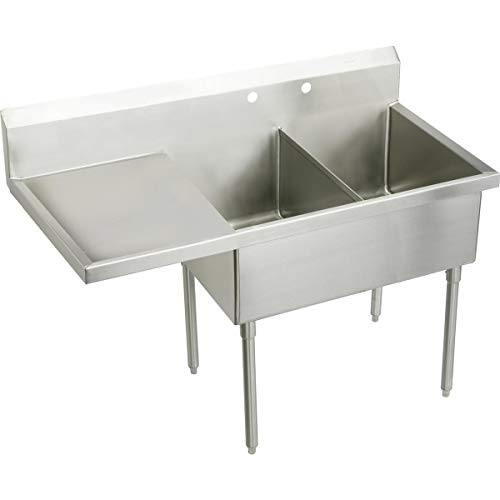 Buy Elkay WNSF8254LOF2 Commercial Sink Lustrous Satin Finish