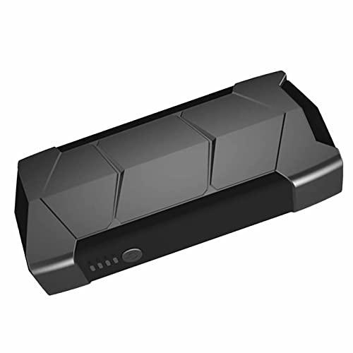 GRFSD 15000mah Booster Bateria Arrancador Peak Car Arrancador De Coches Booster Automático De Batería Arrancador Batería Coche Linterna LED,Puerto USB for Barcos De Motos De Coches De 12 V