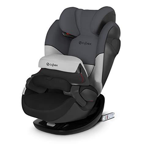 CYBEX Silver 2-in-1 Kinder-Autositz Pallas M-Fix, Für Autos mit und ohne ISOFIX, Gruppe 1/2/3 (9-36 kg), Ab ca. 9 Monaten bis ca. 12 Jahren, Gray Rabbit
