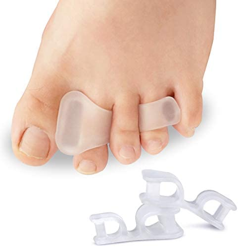 Gel Toe Separators Toe Straighteners For Men Women 3 Pairs Hammer Toe Overlapping Toes Bunion product image