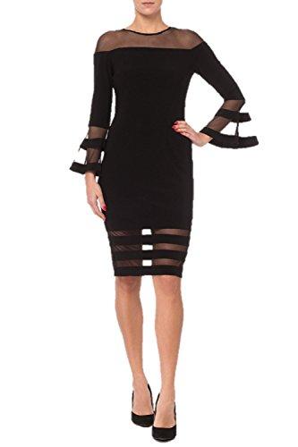 Joseph Ribkoff Black Dress Style 183417 - Fall 2018 Best Seller (12)