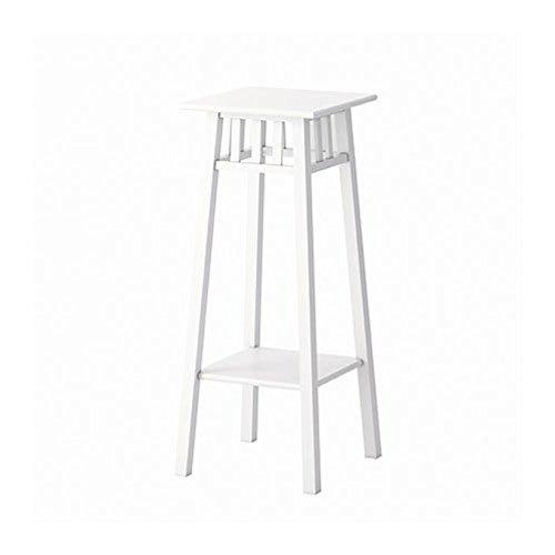 IKEA Lantliv 101.861.11 Pflanzenständer, Weiß, Größe 76 cm
