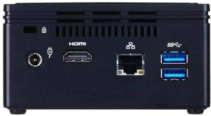 shinobee Lautlos Mini PC BRIX NUC 6-Watt Office, 8GB RAM, 512GB SSD, Win10 Pro, HDMI, USB 3.0, MS Office 2010 Starter, unhörbar Leise, WLAN, Bluetooth, 3 Jahre Garantie! #6556