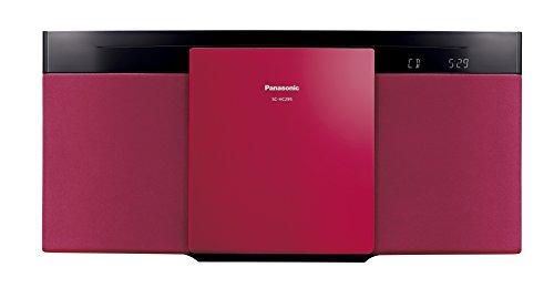 パナソニック ミニコンポ Bluetooth対応 レッド SC-HC295-R