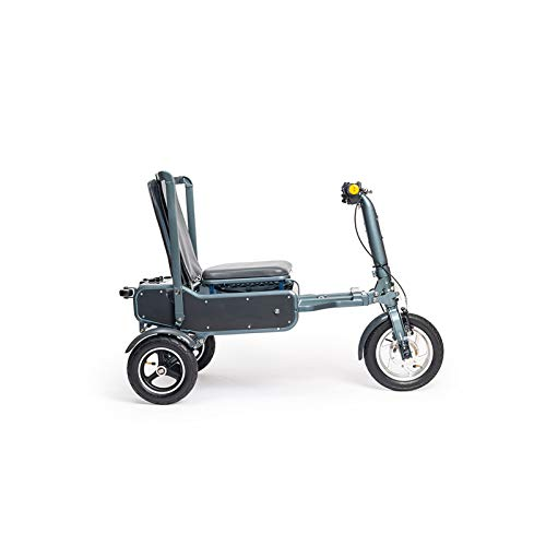 eFOLDi Electric Scooter for Adult, 6061 Aluminium Folding Scooter with the Lightweight Pro Li-ion battery 24V, 12Ah,a Wheeled Suitcase Shape