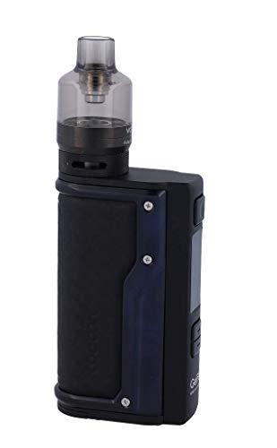VooPoo Argus GT E-Zigaretten Set | VW, Smart, TC (Ni, Ti, SS, TCR-M1/M2/M3) | Betrieb über 18650er Akkuzellen | max. 160 Watt (carbon-schwarz)
