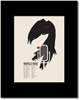 NOUVELLE VAGUE - Fall Tour 2006 Mini Poster - 19.2x14.4cm