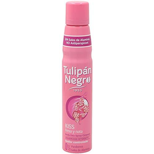 TULIPAN NEGRO desodorante kiss spray 200 ml